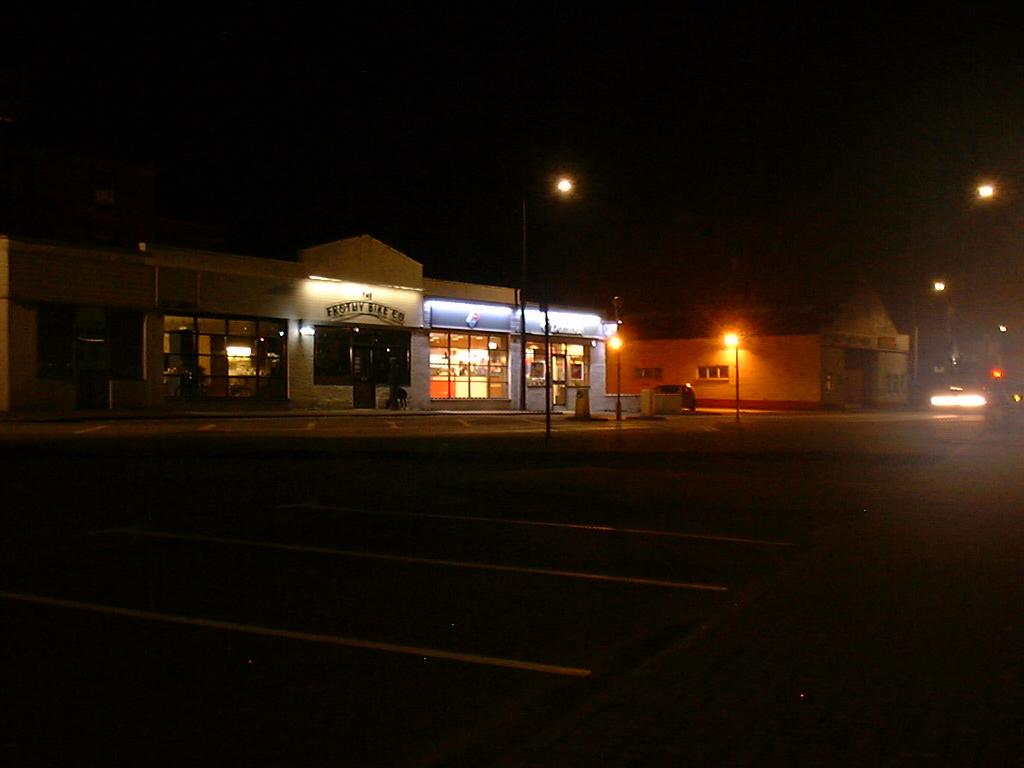 Night shot on DX-10
