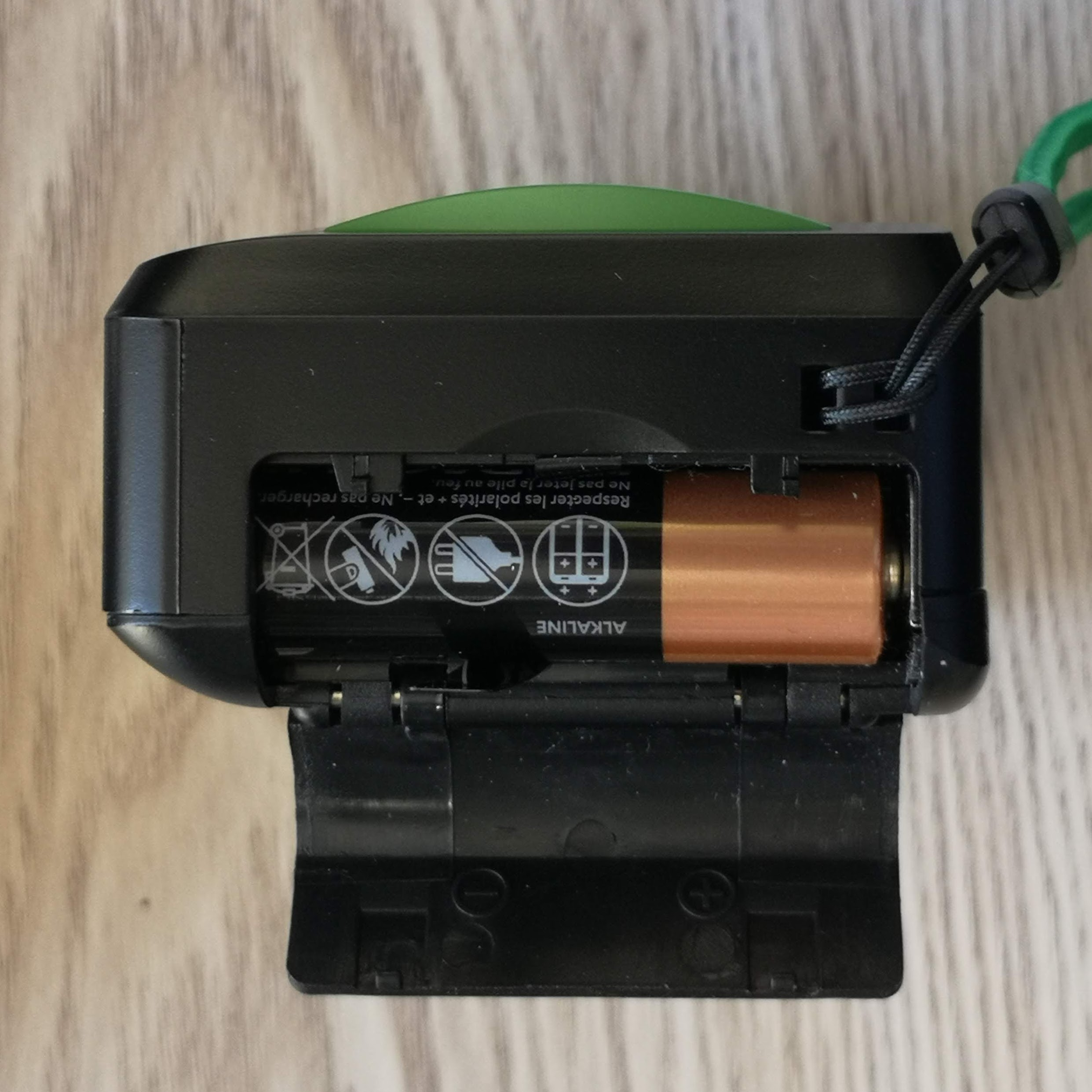 Battery compartment of EZ35